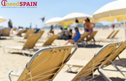 "This year the beaches of Sant Sebastià and Barceloneta have exceeded the norm of ""one person per 4 square meters"""